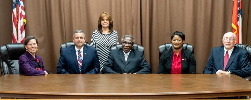 Warren County Board of Supervisors Group Photo 2020